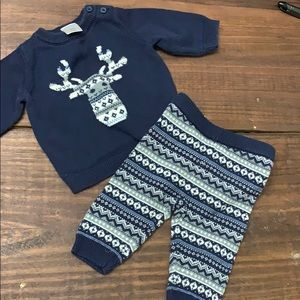 Gymboree 0-3 Month Reindeer Outfit